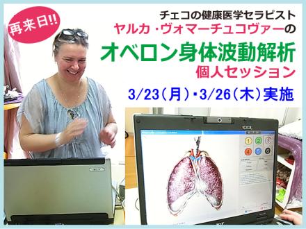 ヤルカさんのオベロン身体波動測定個人セッション