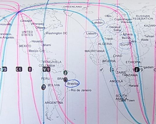 アストロロジー・トラベルマップ