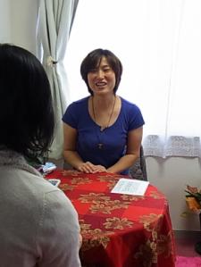 Ayako先生のセッション風景