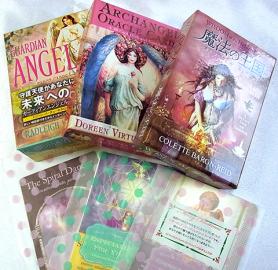 ガーディアンエンジェルタロットカード、大天使オラクルカード、魔法の王国オラクルカード